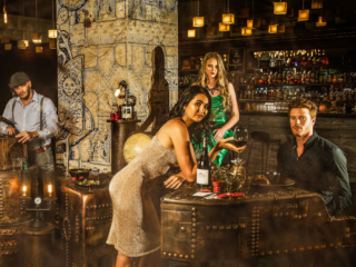Commercial Lifestyle Photography Hotel Bar Steampunk by Adrian Kilchherr Switzerland Europe Australia