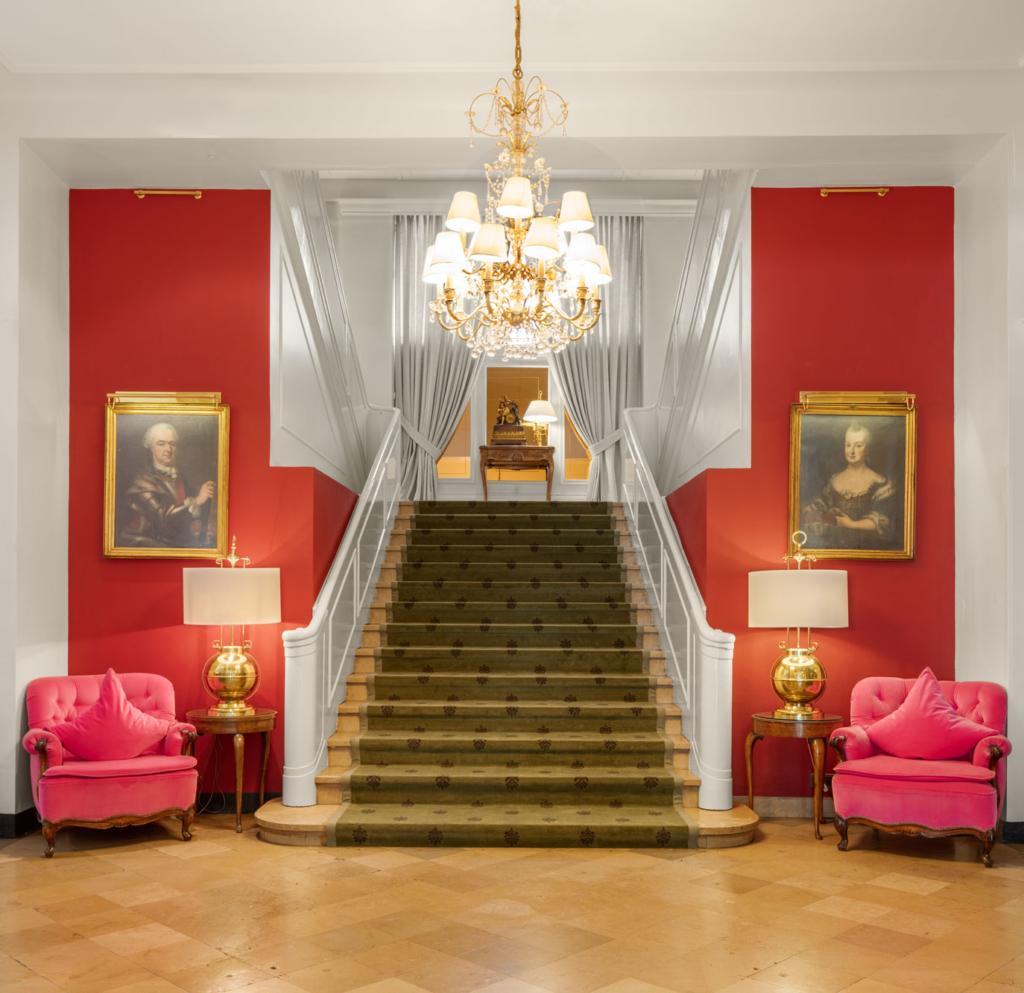 Der Europaeische Hof Heidelberg, Deutschland von Schweizer Hotelfotograf Adrian Kilchherr