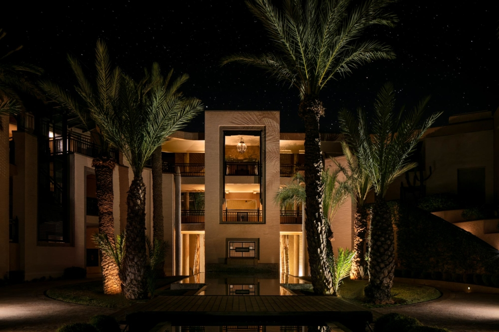 Fairmont Royal Palm Marrakech Exterior photography by Adrian Kilchherr, Luxury Hotel and Resort Photographer Morocco