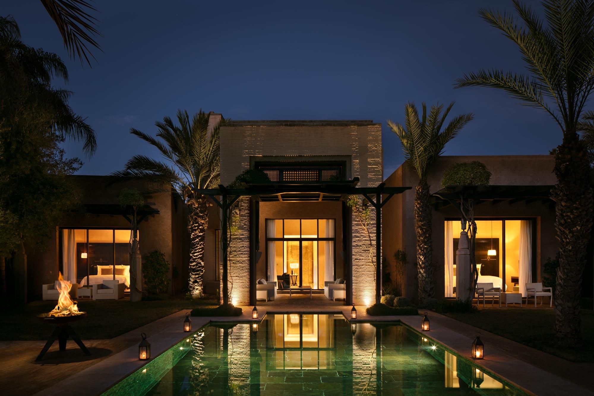 Fairmont Royal Palm Marrakech Villa von Adrian Kilchherr, Luxushotelfotograf weltweit
