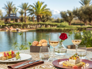 Romantic lunch photography by Adrian Kilchherr - Hotel and Resort Photographer Europe Africa Canada USA Australia
