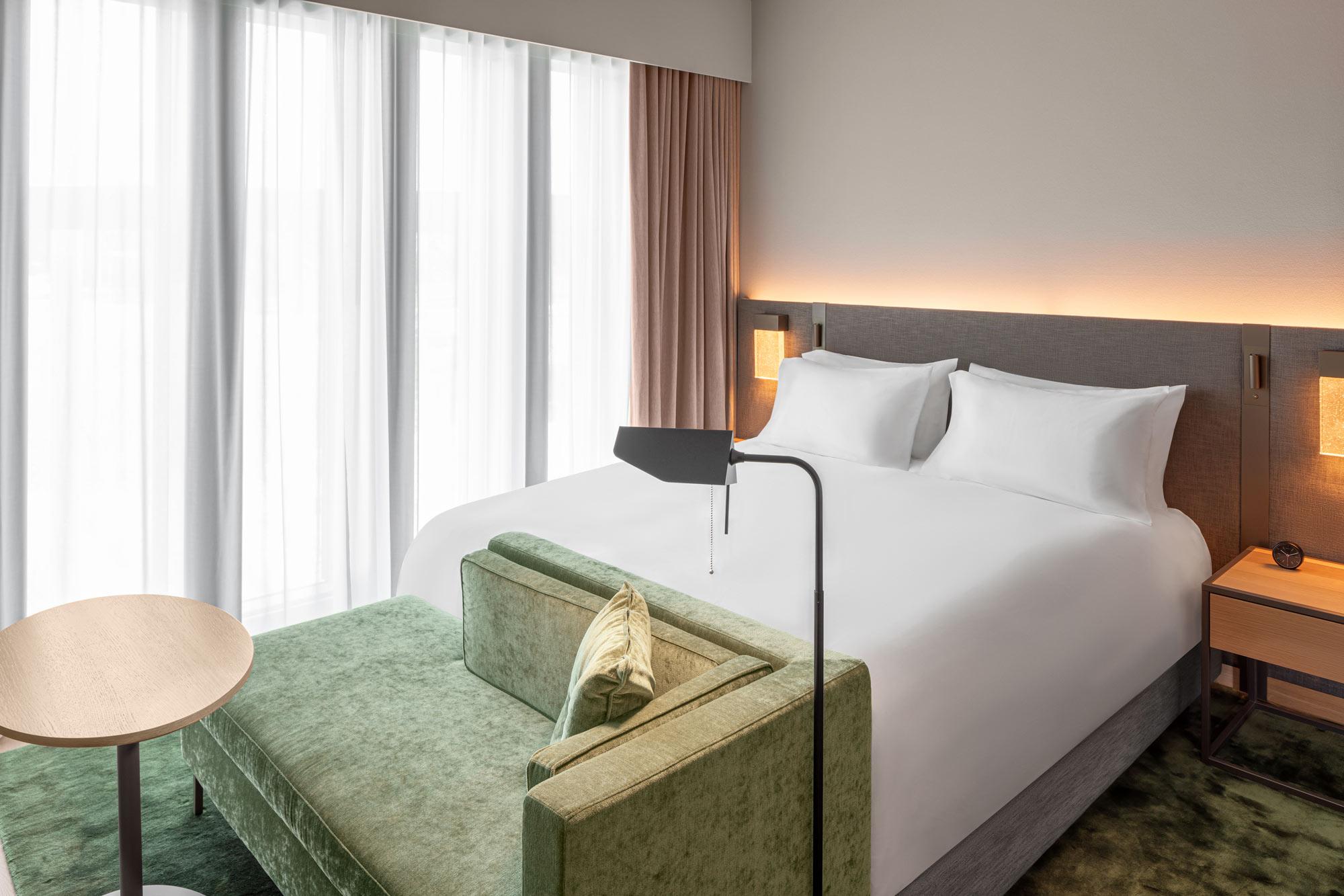 Hyatt Guestroom Hotel Photography by Adrian Kilchherr Switzerland Europe