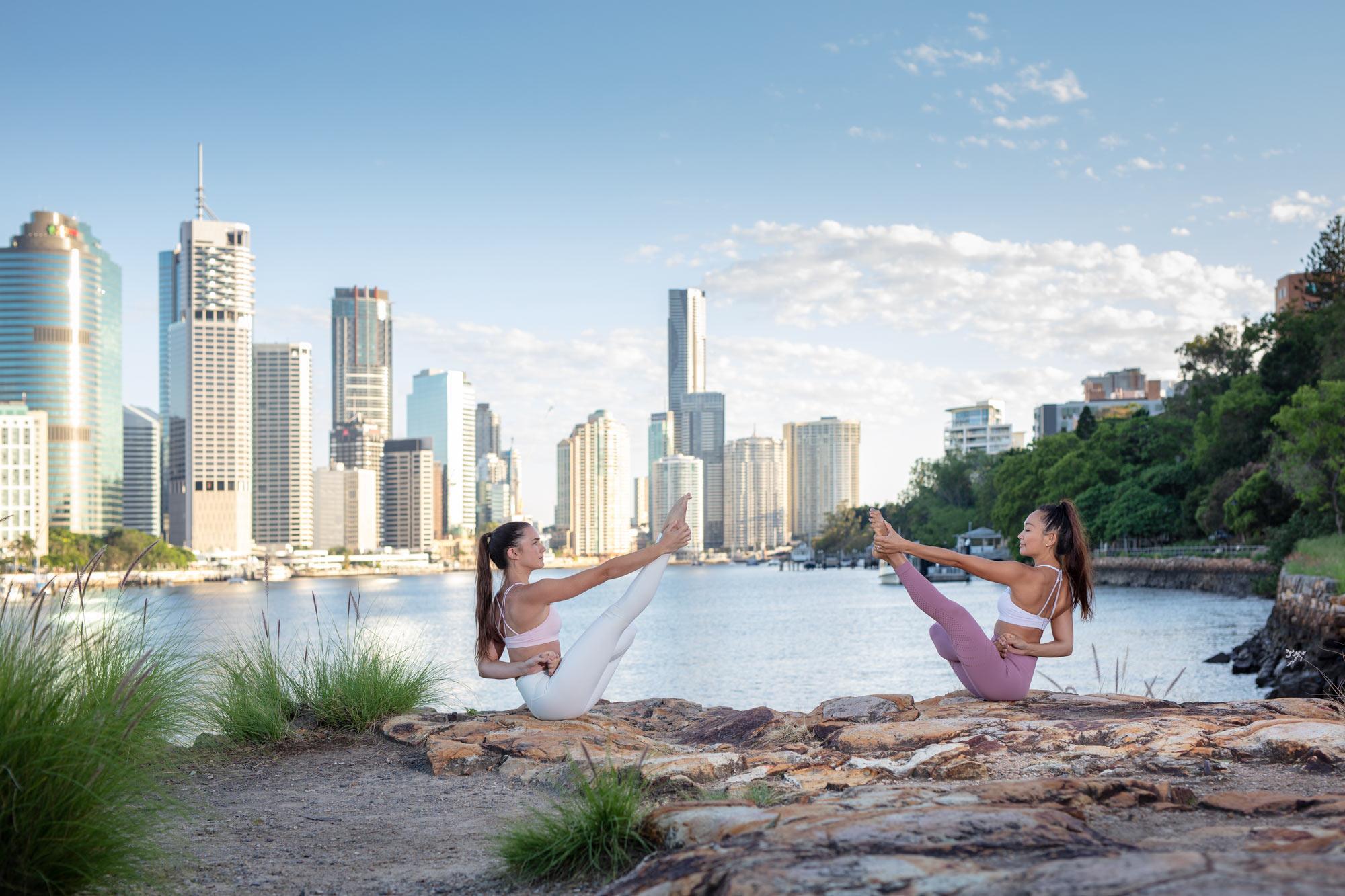 Lebensstil Yoga von Schweizer Hotel Fotograf Adrian Kilchherr Schweiz Deutschland