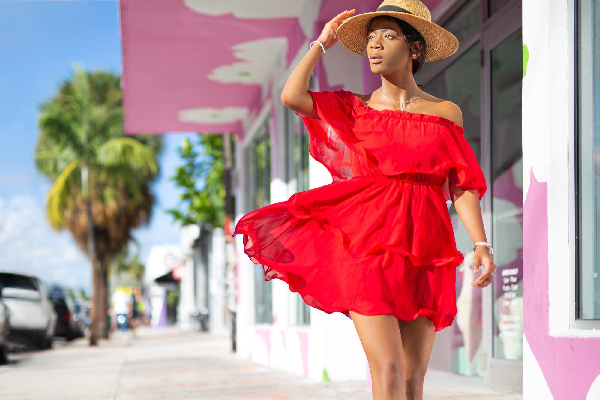 Lifestyle summer photoshoot Miami Wynwood by Adrian Kilchherr