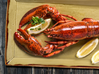 Lobster photography Park Hyatt Zurich by Adrian Kilchherr, Food Photographer Switzerland.