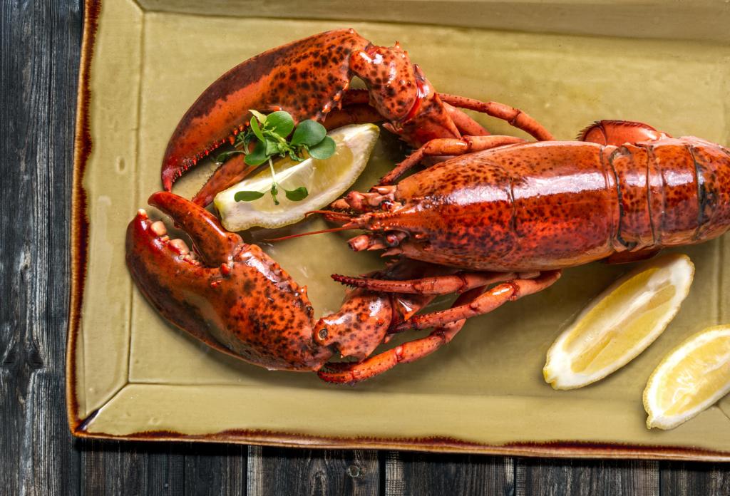 Lobster photography Park Hyatt Zurich by Adrian Kilchherr, Food Photographer Switzerland.