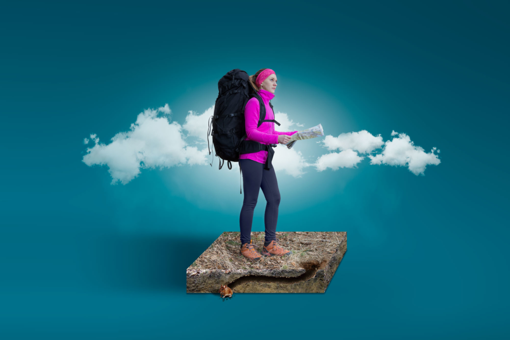 Mountain Hiking Lifestyle by Adrian Kilchherr, Commercial Photographer and Retoucher Worldwide
