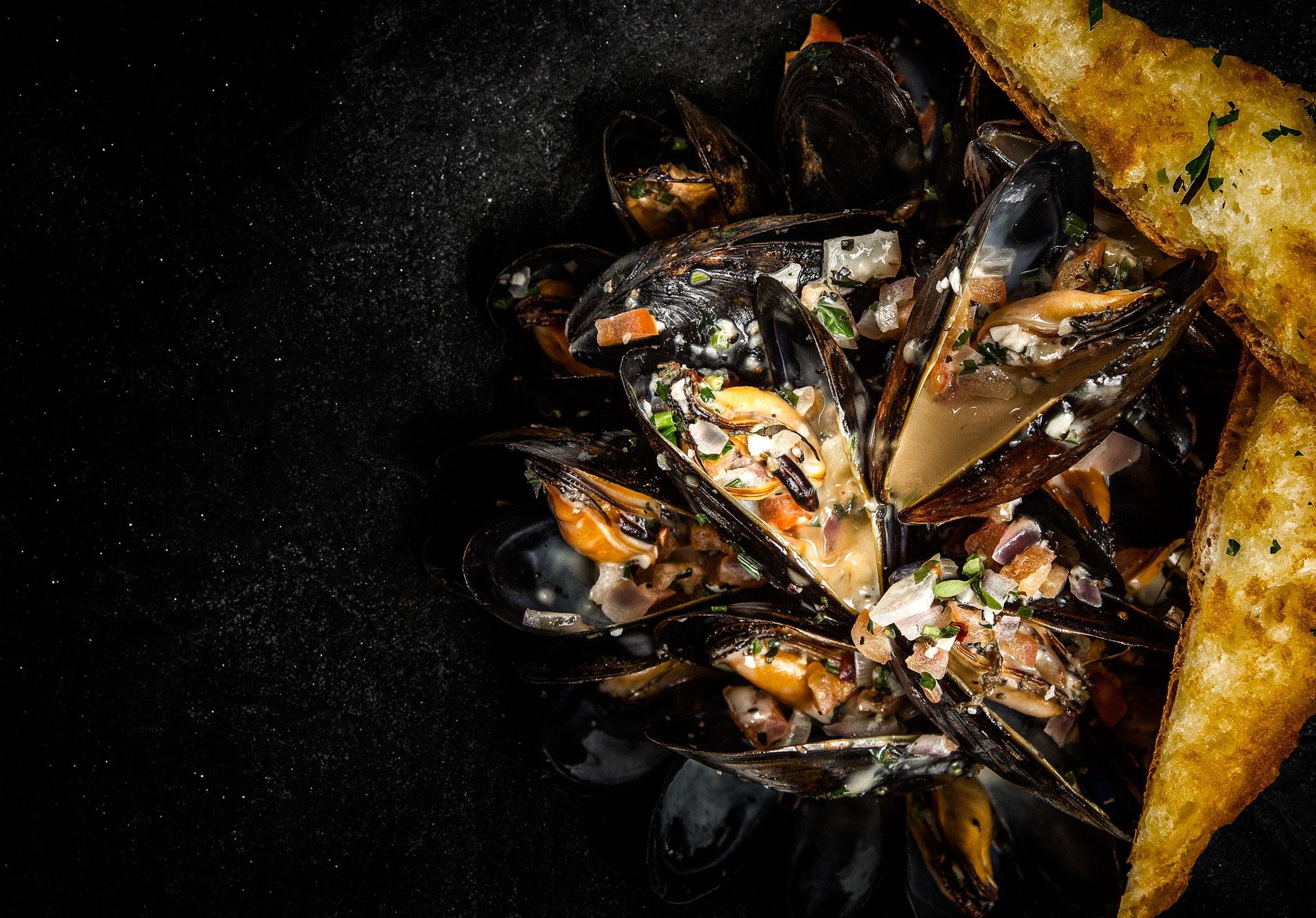 Seafood Fotografie fur Hilton Hotels - Professionelle Foodfotograf Adrian Kilchherr aus Schweiz
