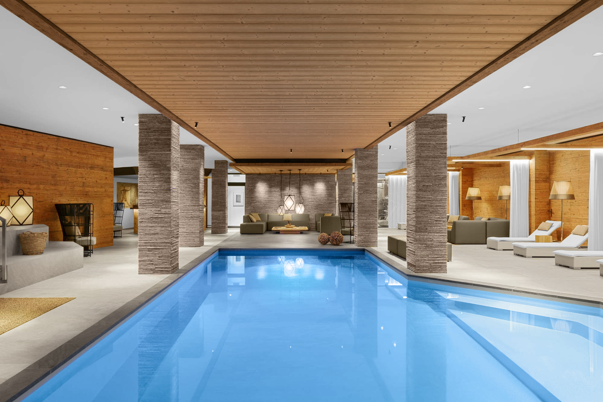 Hotel Spa photography by Adrian Kilchherr, Hotel and Resort Photographer from Switzerland.