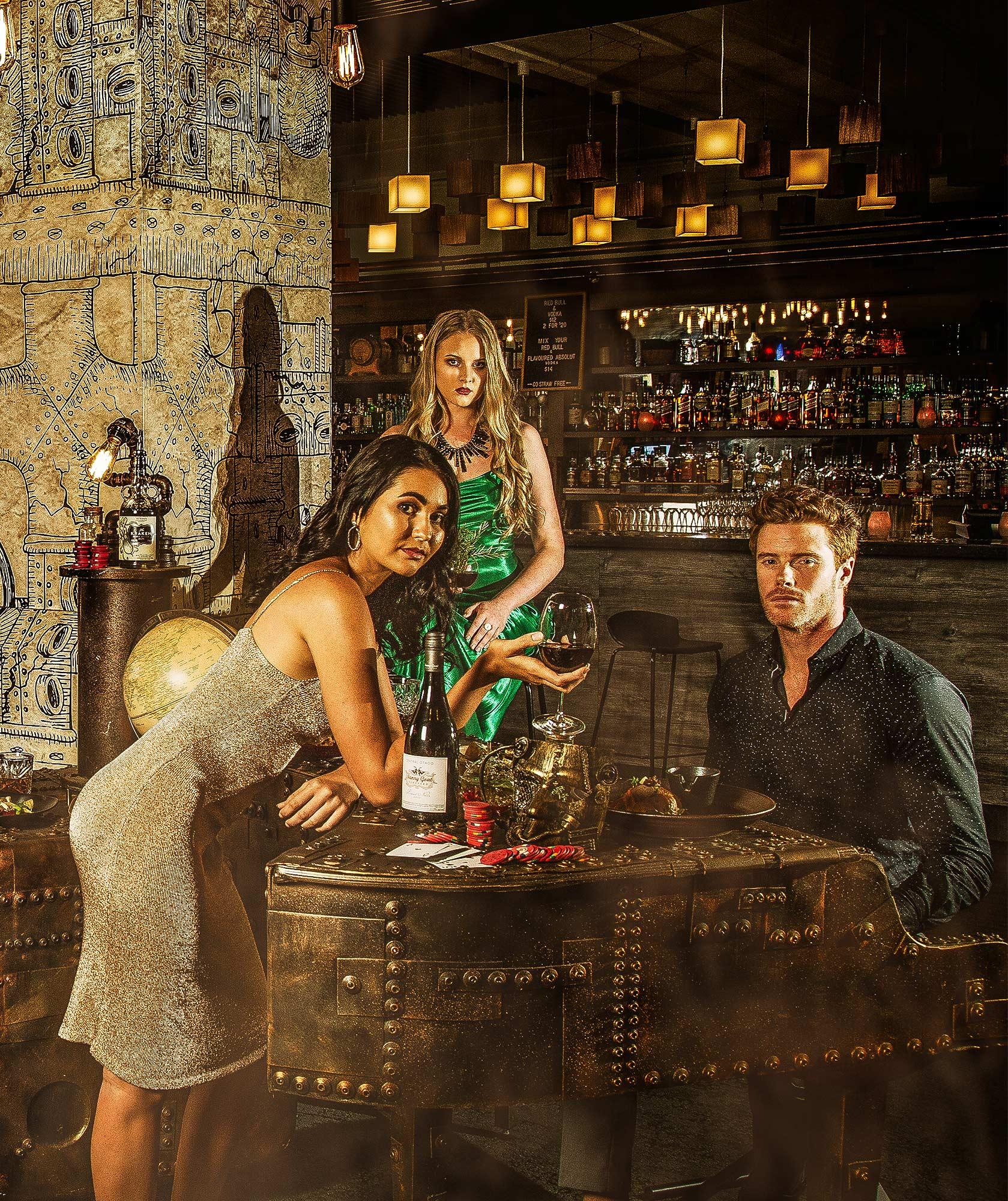 Hotel Bar Kampagne von Werbefotograf Adrian Kilchherr Schweiz