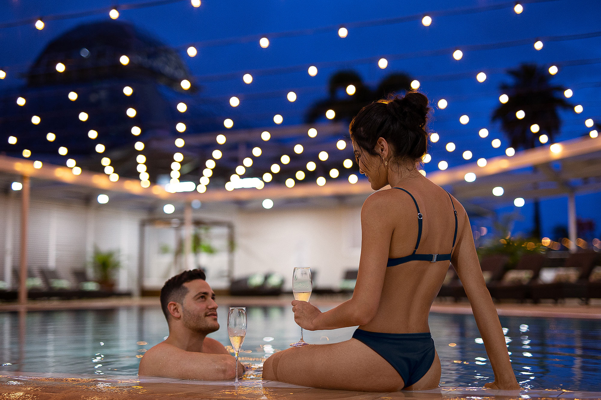 Romantic Hotel Lifestyle Pool Photography by Adrian Kilchherr Europe Australia