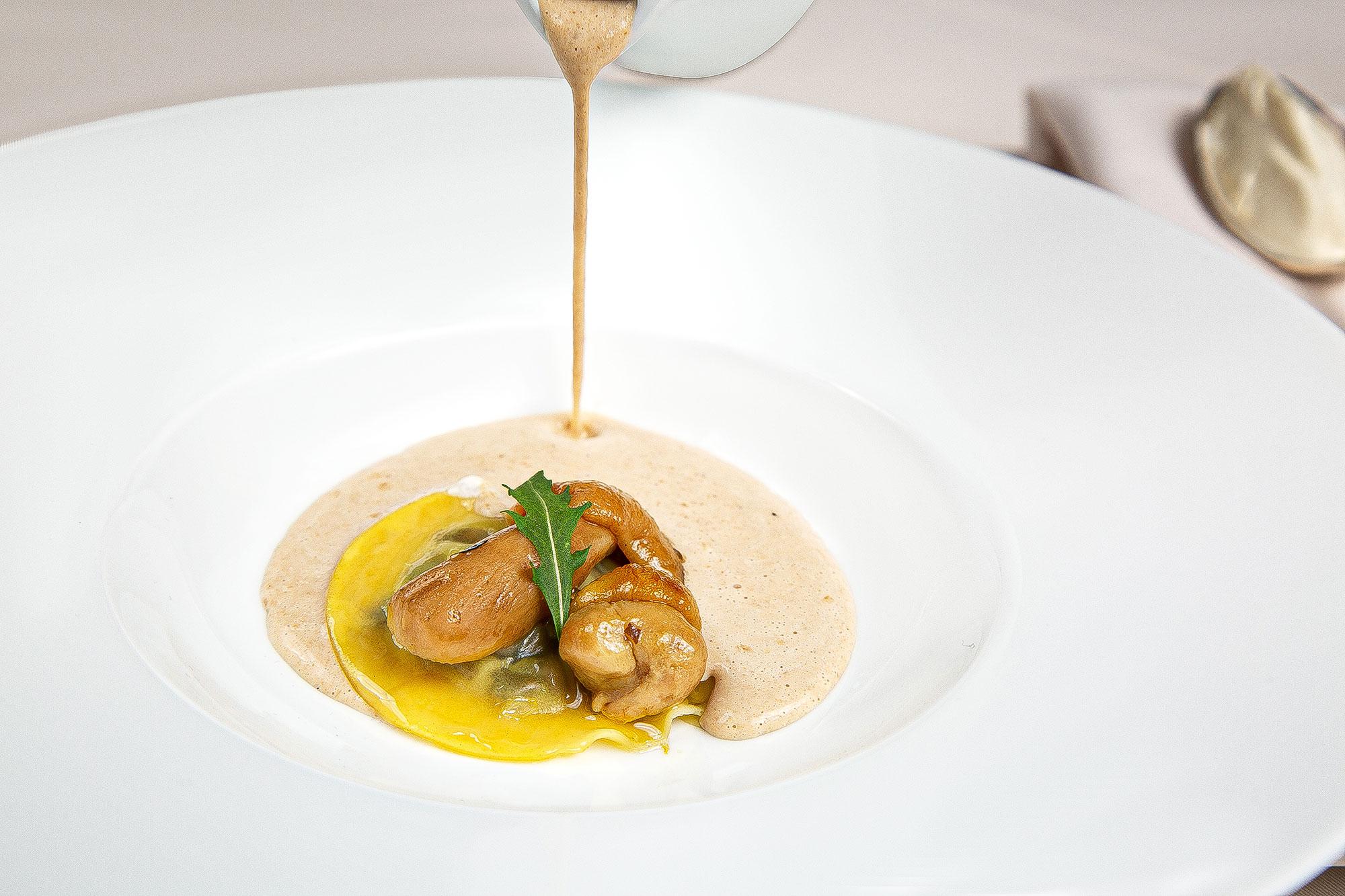 Luxus Restaurant Fotografie von Schweizer Foodfotograf Adrian Kilchherr; Schweiz; Deutschland; Oesterreich; Italien