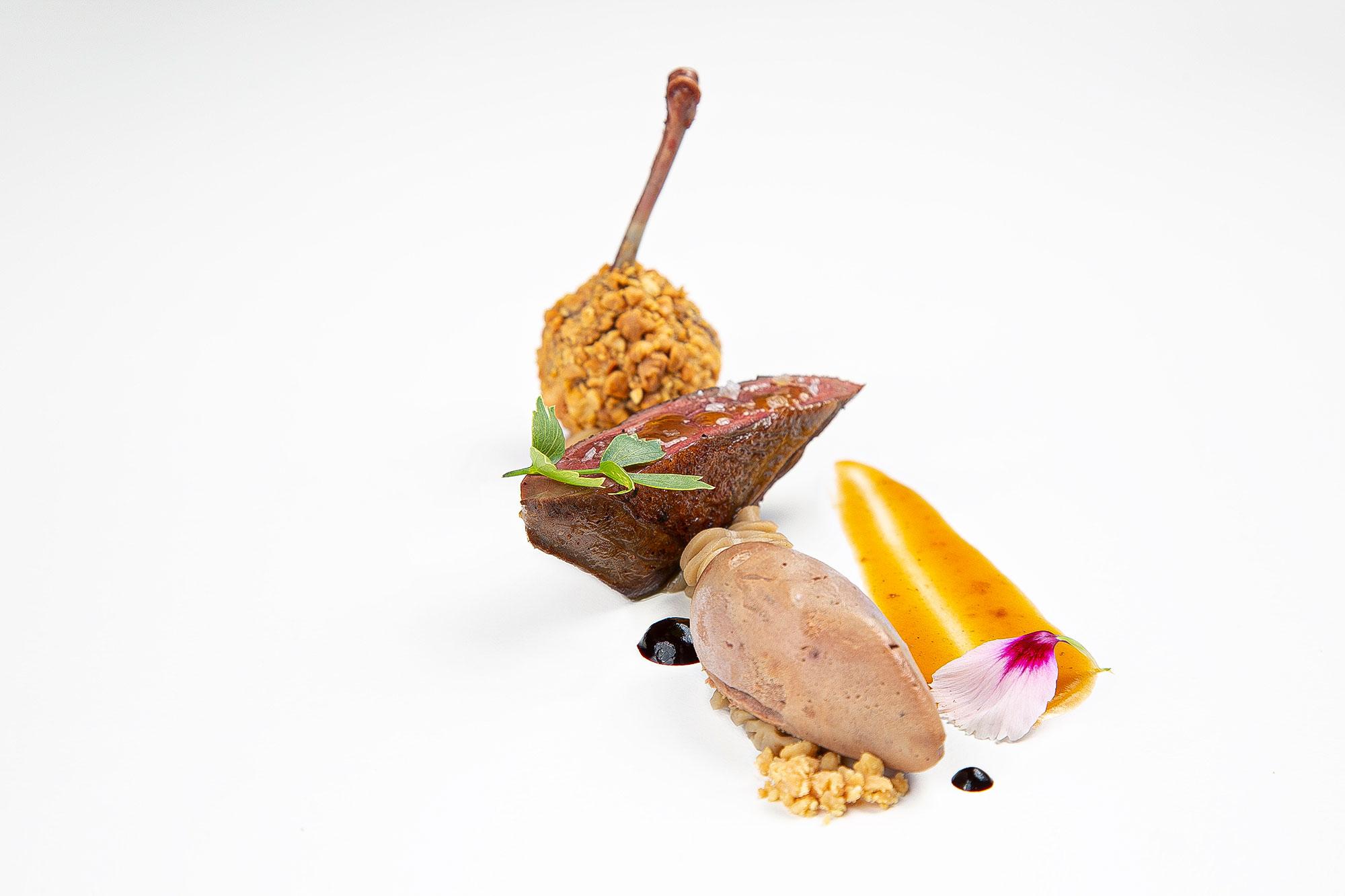 Luxusrestaurant Michelin-Sterne Foodfotografie von Gastrofotograf Adrian Kilchherr Schweiz Deutschland Oesterreich Suedtirol