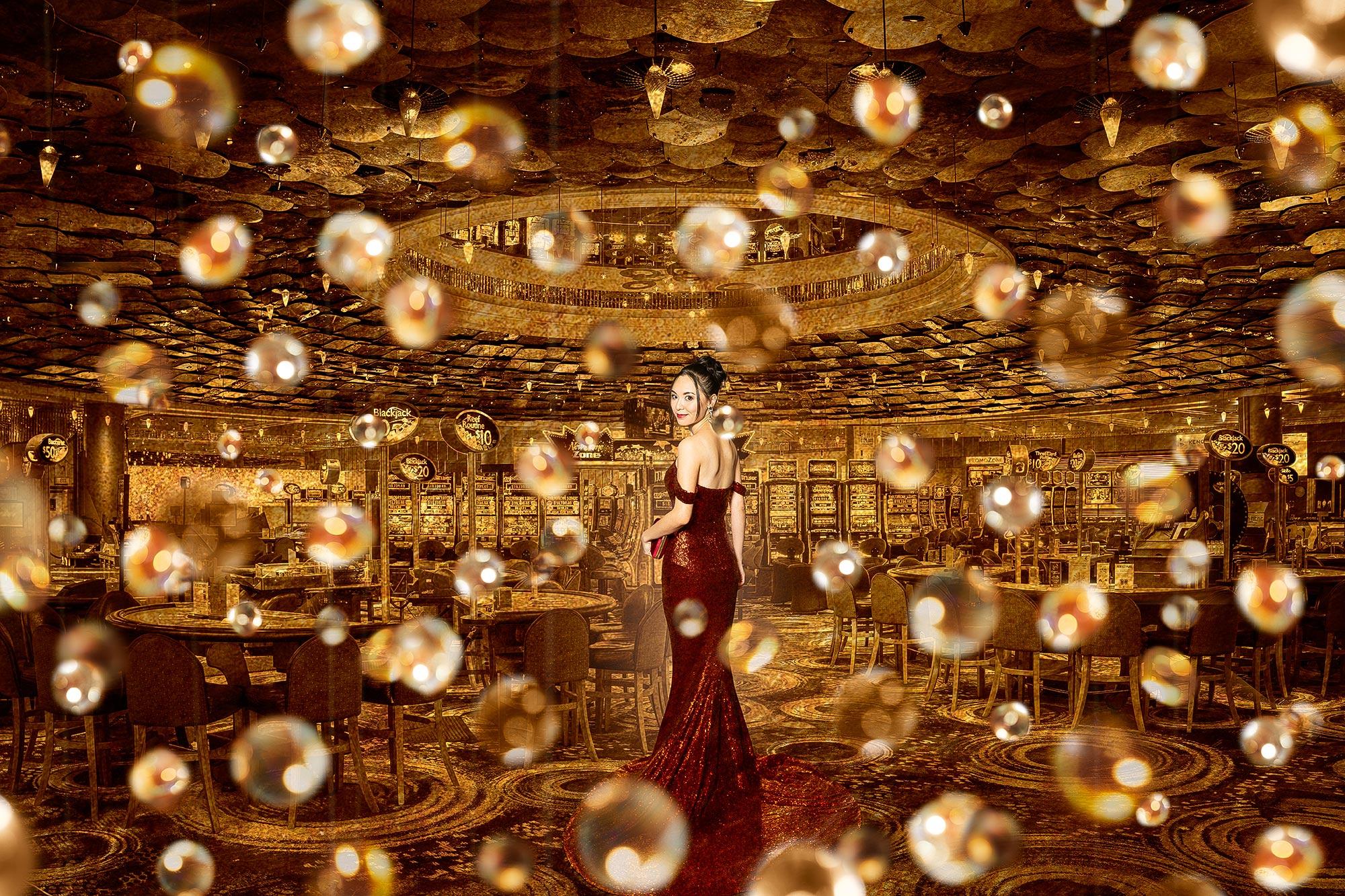 Werbefotografie Casino von Adrian Kilchherr Schweiz